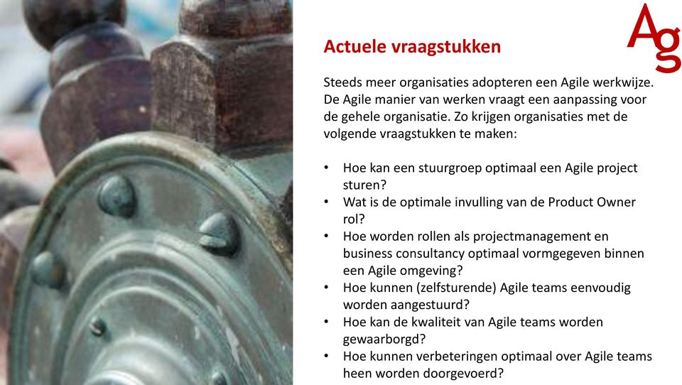Wat is de optimale invulling van de Product Owner rol?