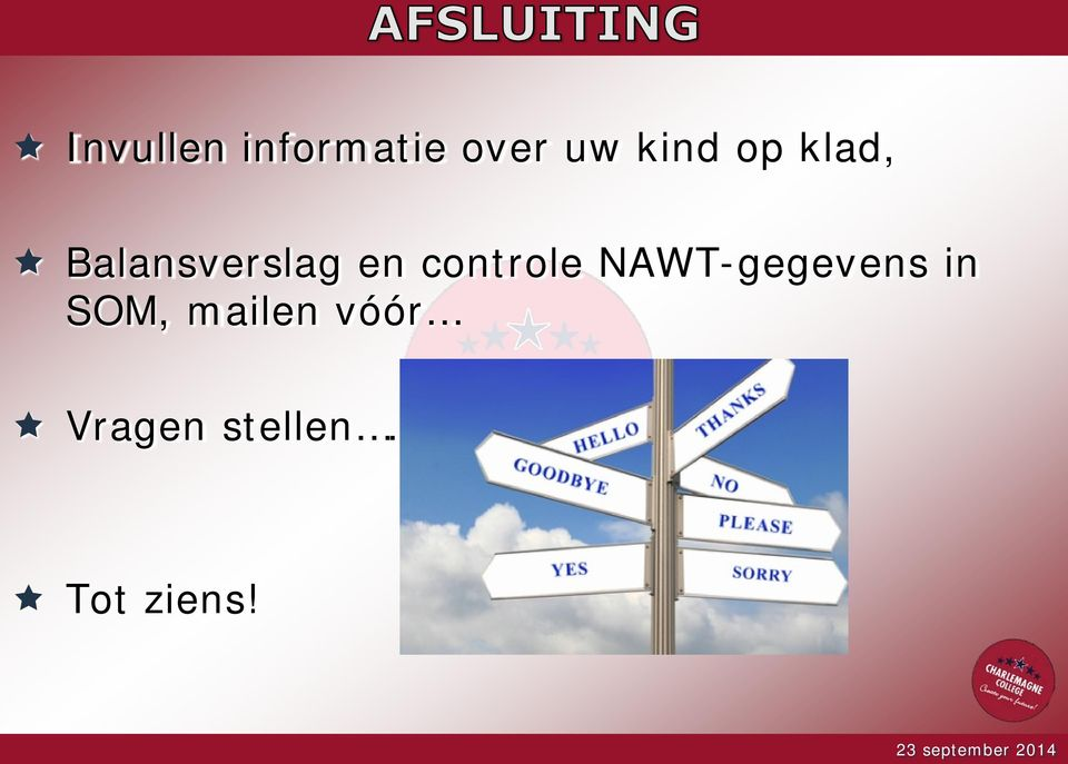 controle NAWT-gegevens in SOM,