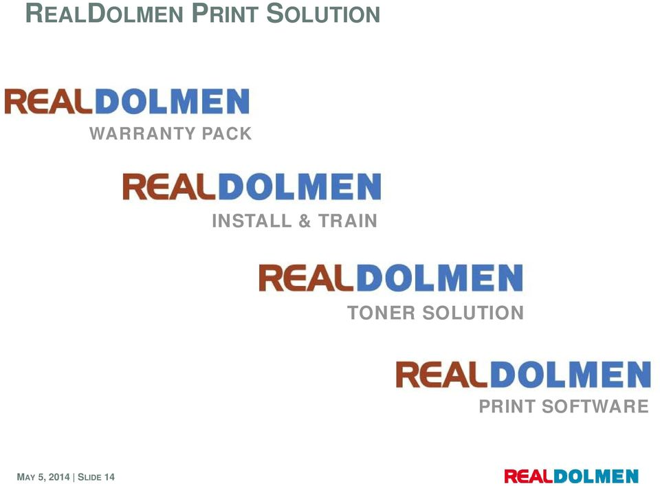 TRAIN TONER SOLUTION PRINT