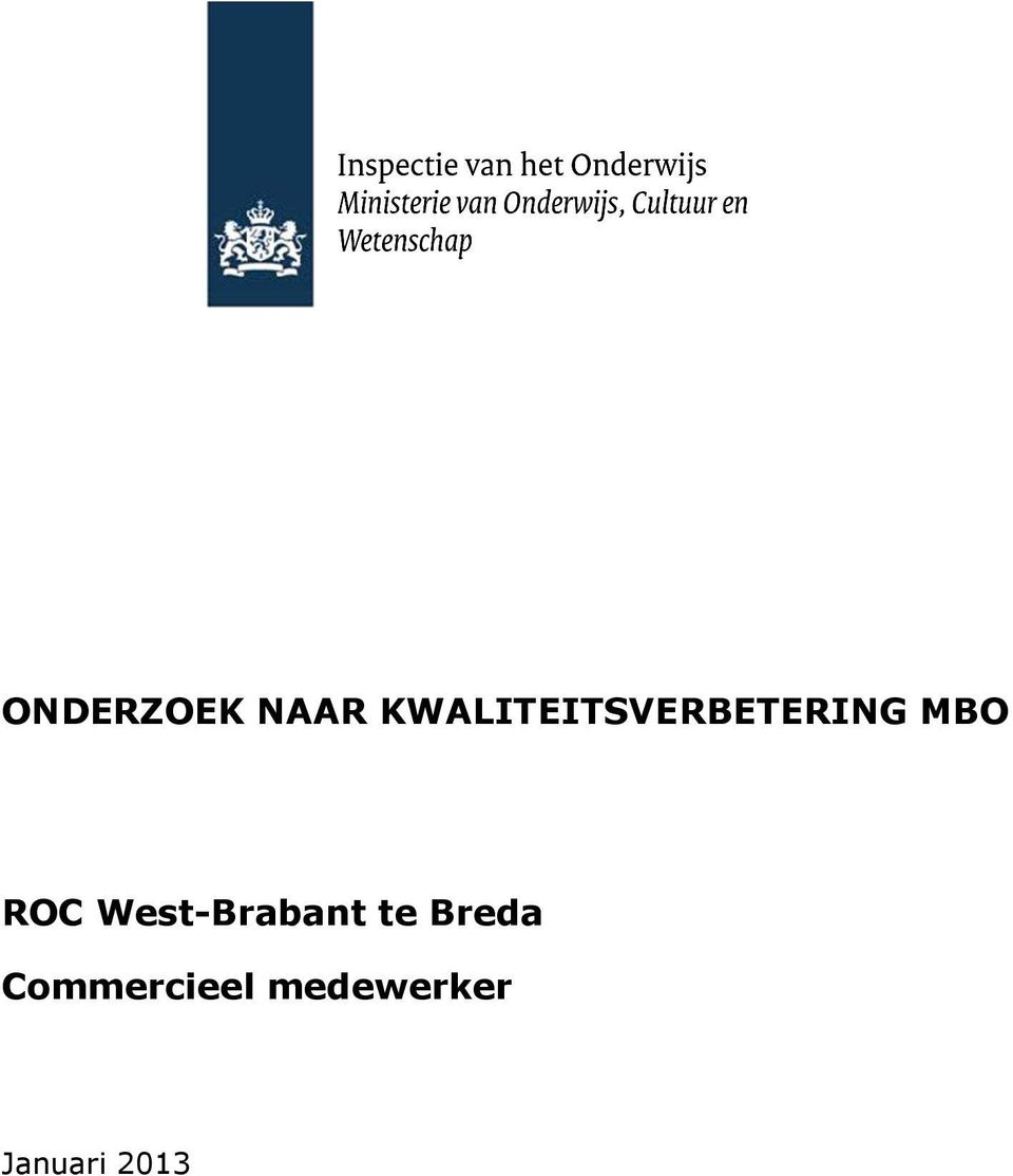 ROC West-Brabant te Breda