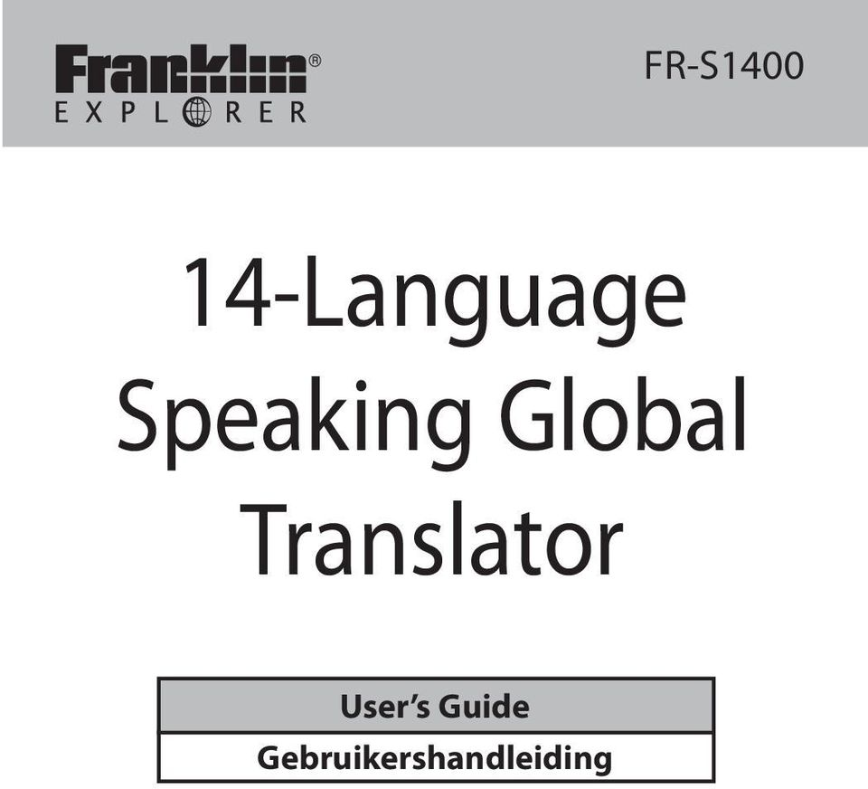 Translator User s