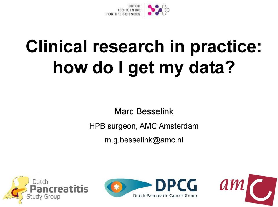 data? Marc Besselink HPB