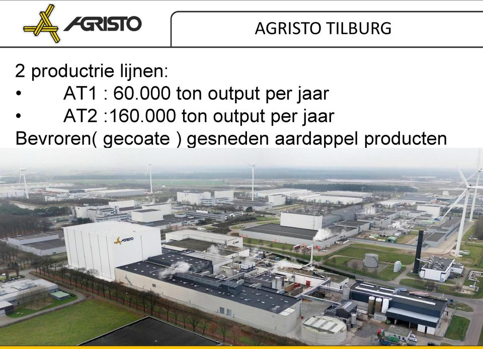 000 ton output per jaar AT2 :160.