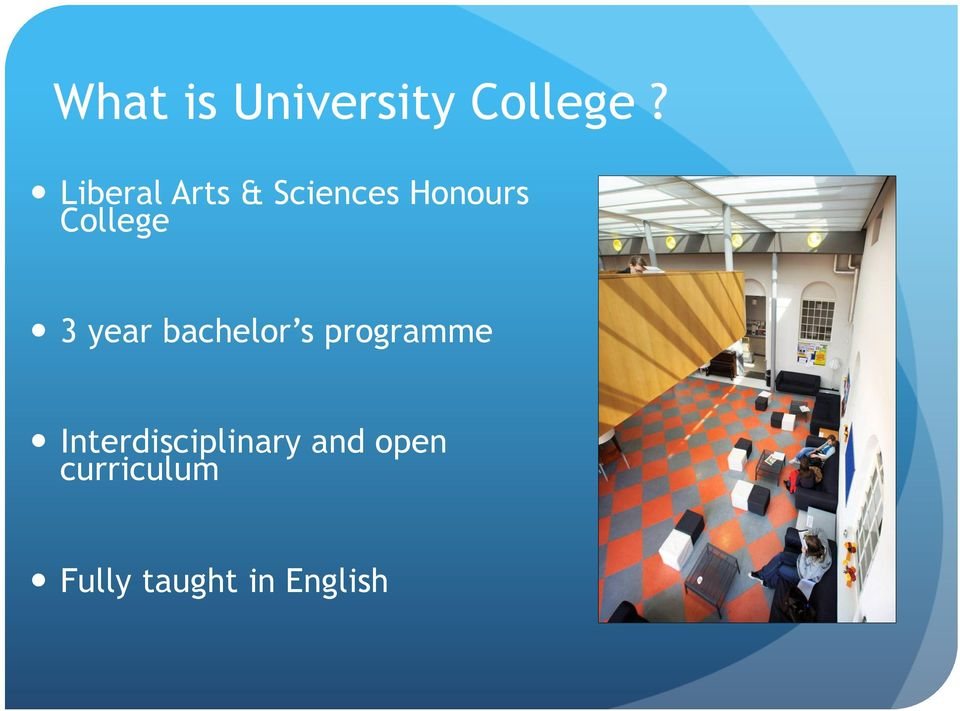 3 year bachelor s programme