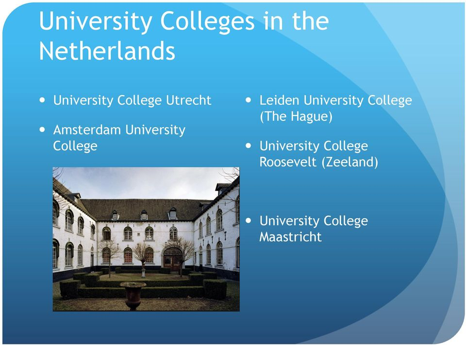 Leiden University College (The Hague) University