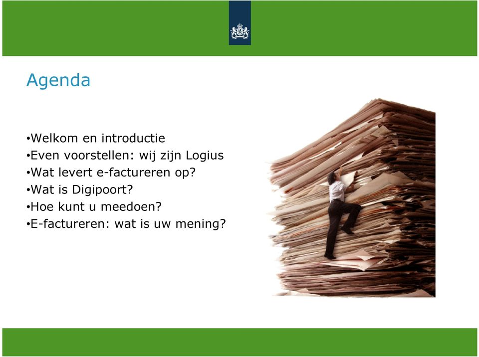e-factureren op? Wat is Digipoort?