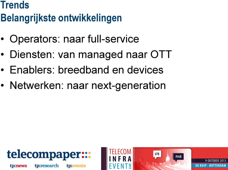 van managed naar OTT Enablers: