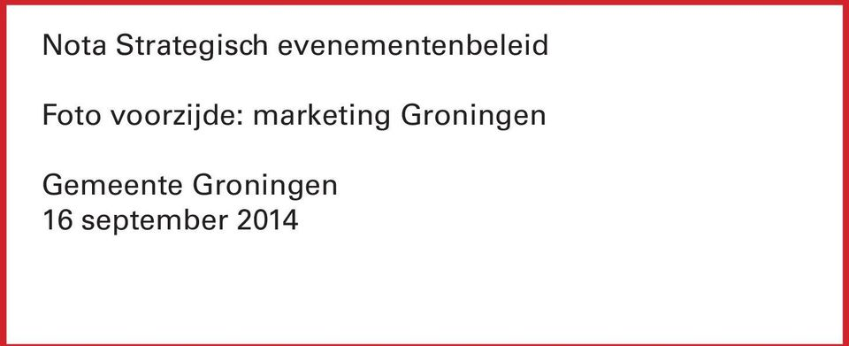 voorzijde: marketing