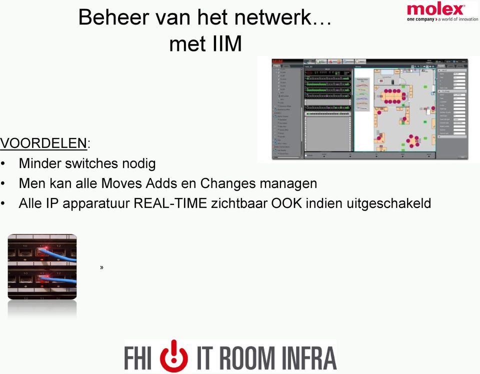 Adds en Changes managen Alle IP apparatuur