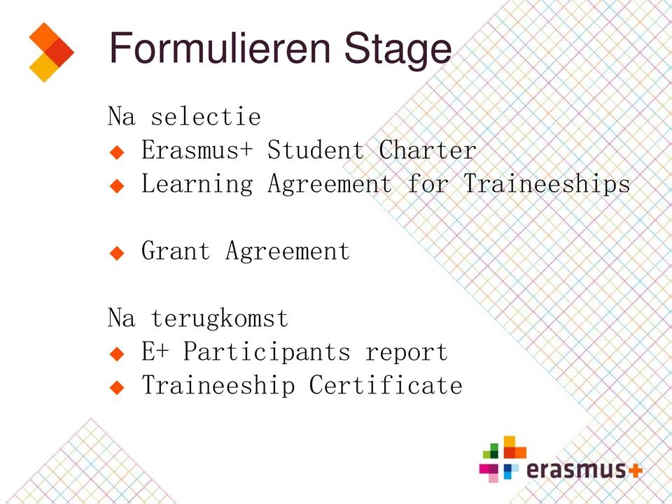 Traineeships Grant Agreement Na