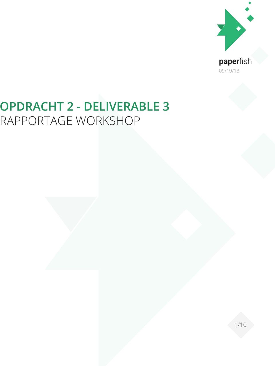 2 - DELIVERABLE 3