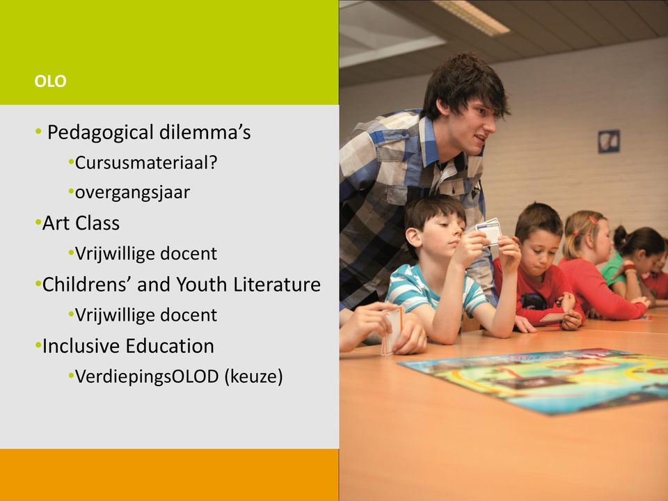 Childrens and Youth Literature Vrijwillige