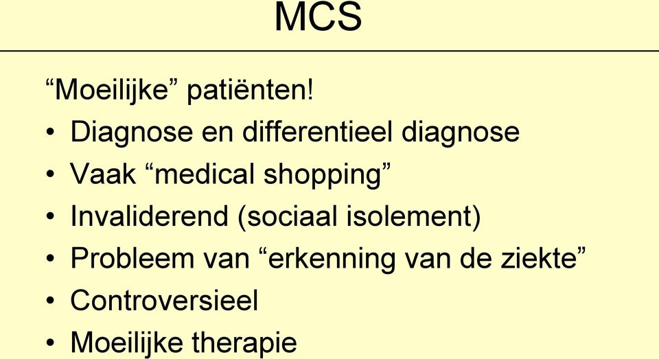 medical shopping Invaliderend (sociaal