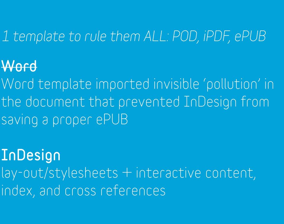 prevented InDesign from saving a proper epub InDesign