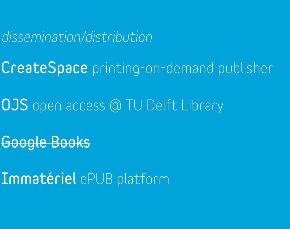 publisher OJS open access @ TU