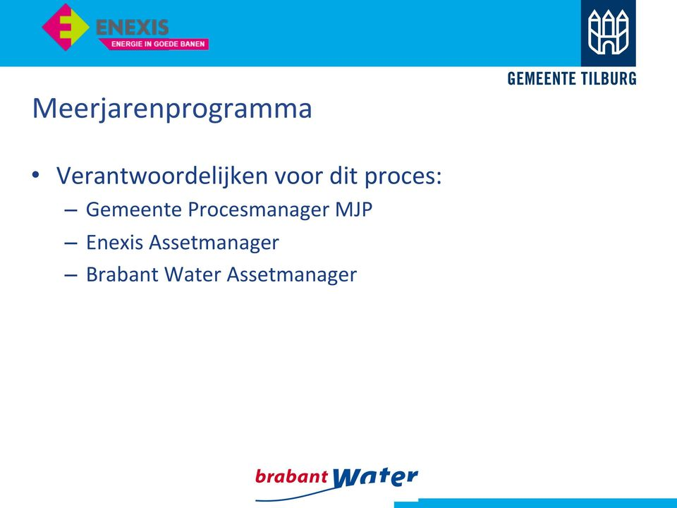 proces: Gemeente Procesmanager