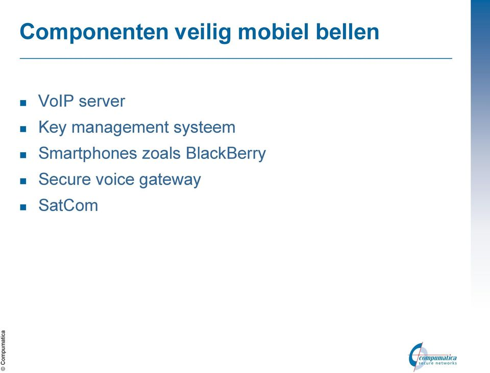 management systeem Smartphones
