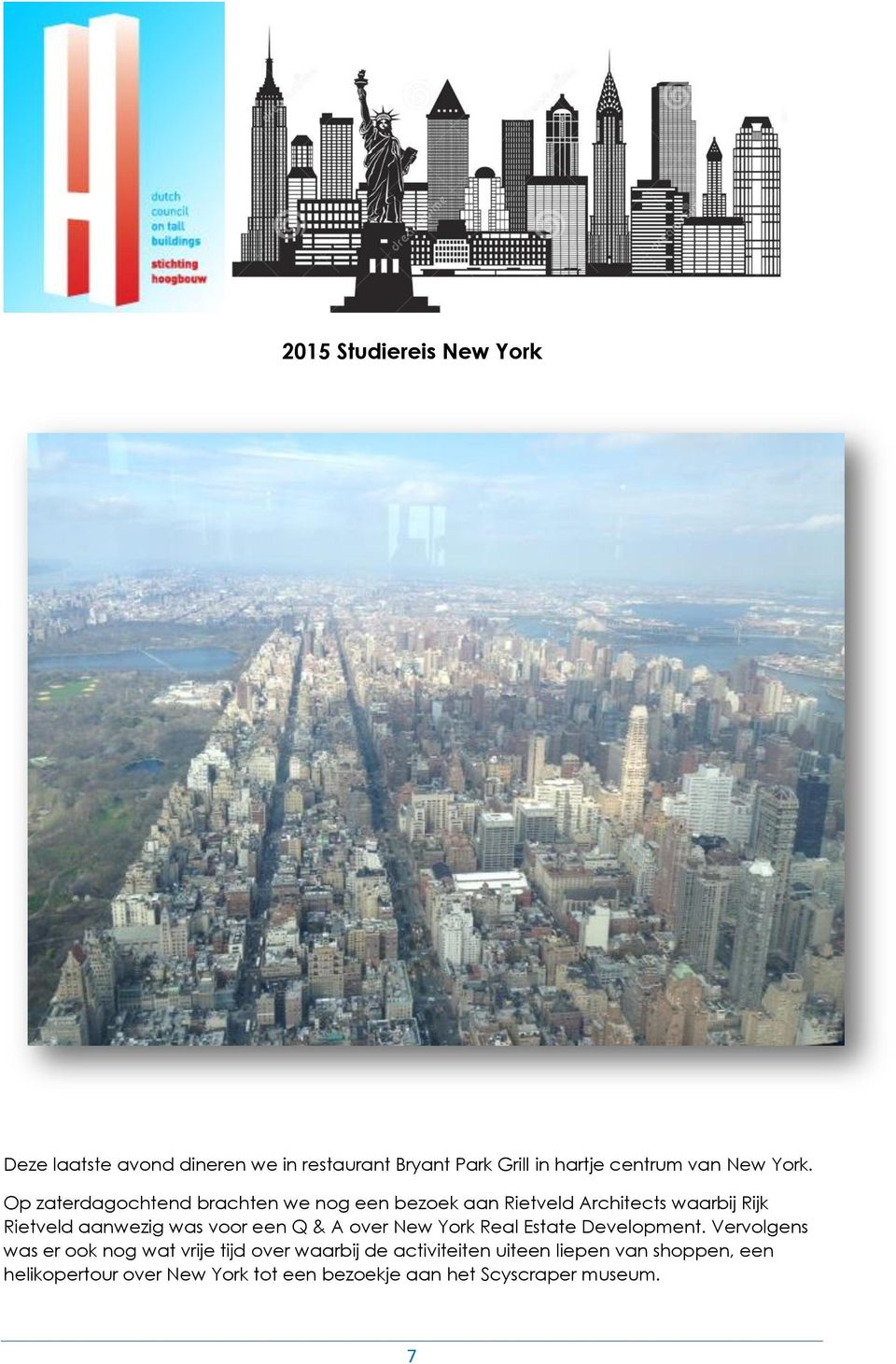 voor een Q & A over New York Real Estate Development.