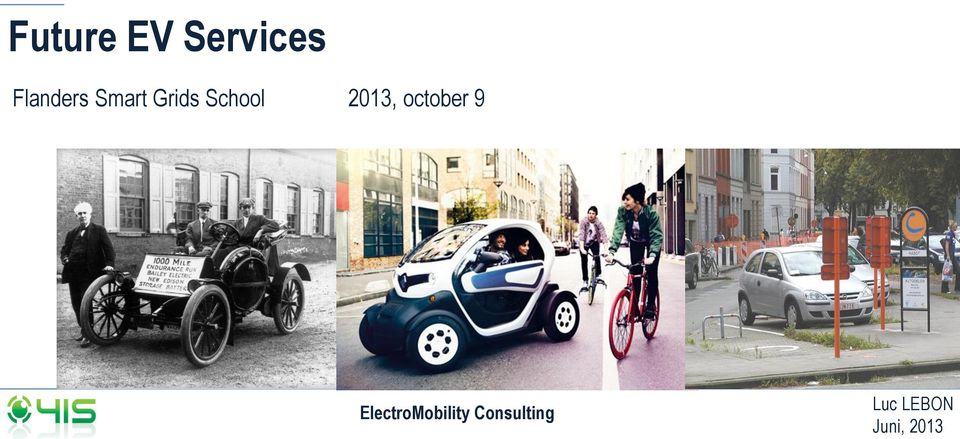 october 9 ElectroMobility
