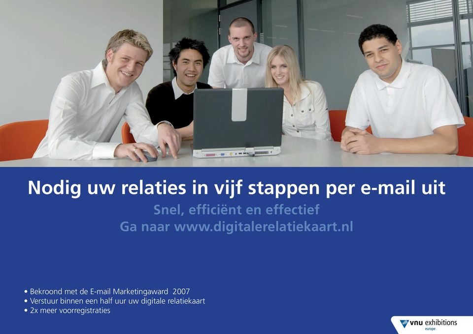 nl Bekroond met de E-mail Marketingaward 007 Verstuur