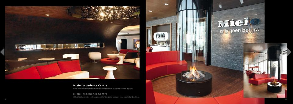 Miele Insperience Centre At two locations in the Miele