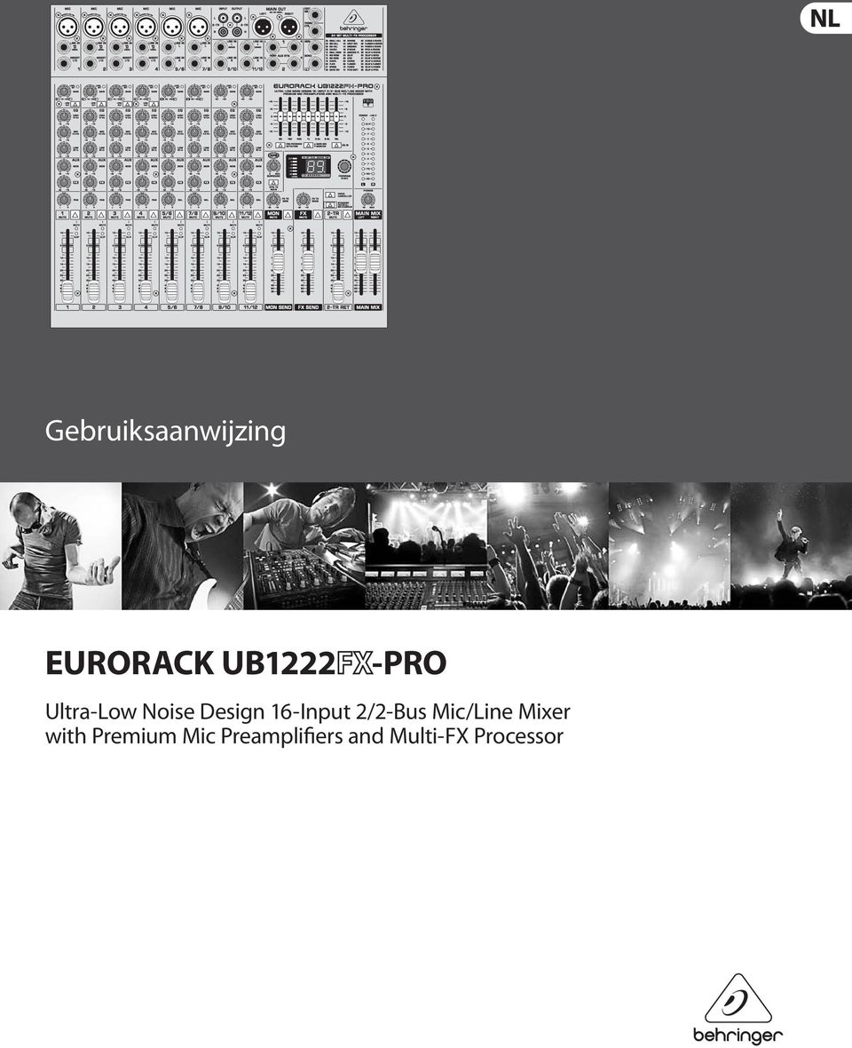 2/2-Bus Mic/Line Mixer with Premium