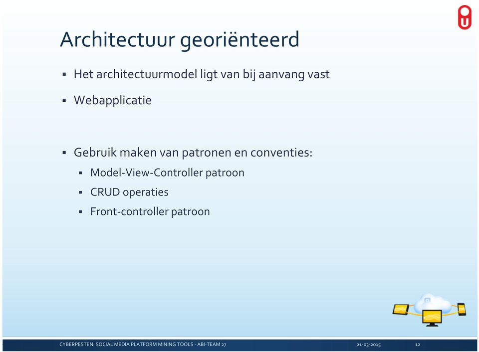 maken van patronen en conventies: Model View
