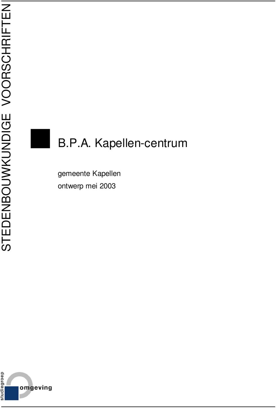 Kapellen-centrum