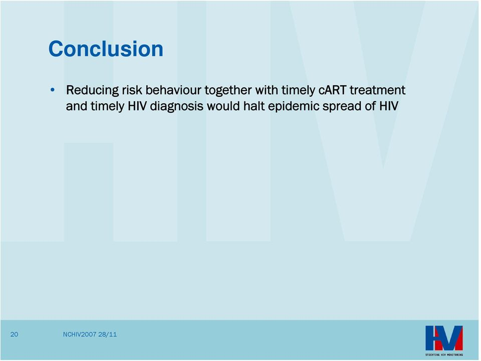 cart treatment and timely HIV