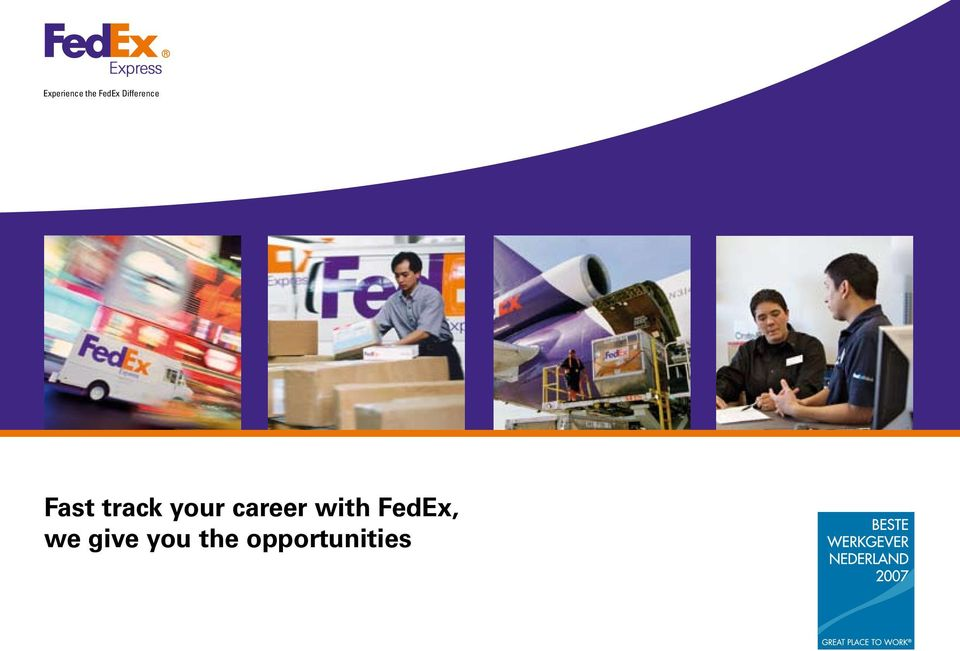your career with FedEx,