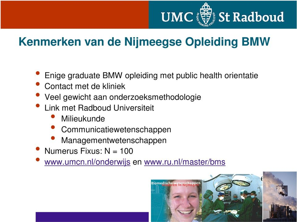 Link met Radboud Universiteit Milieukunde Communicatiewetenschappen