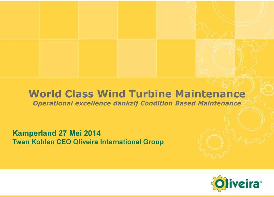 Based Maintenance Kamperland 27 Mei 2014