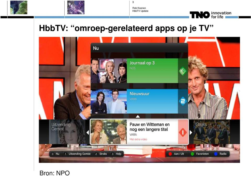 apps op je TV