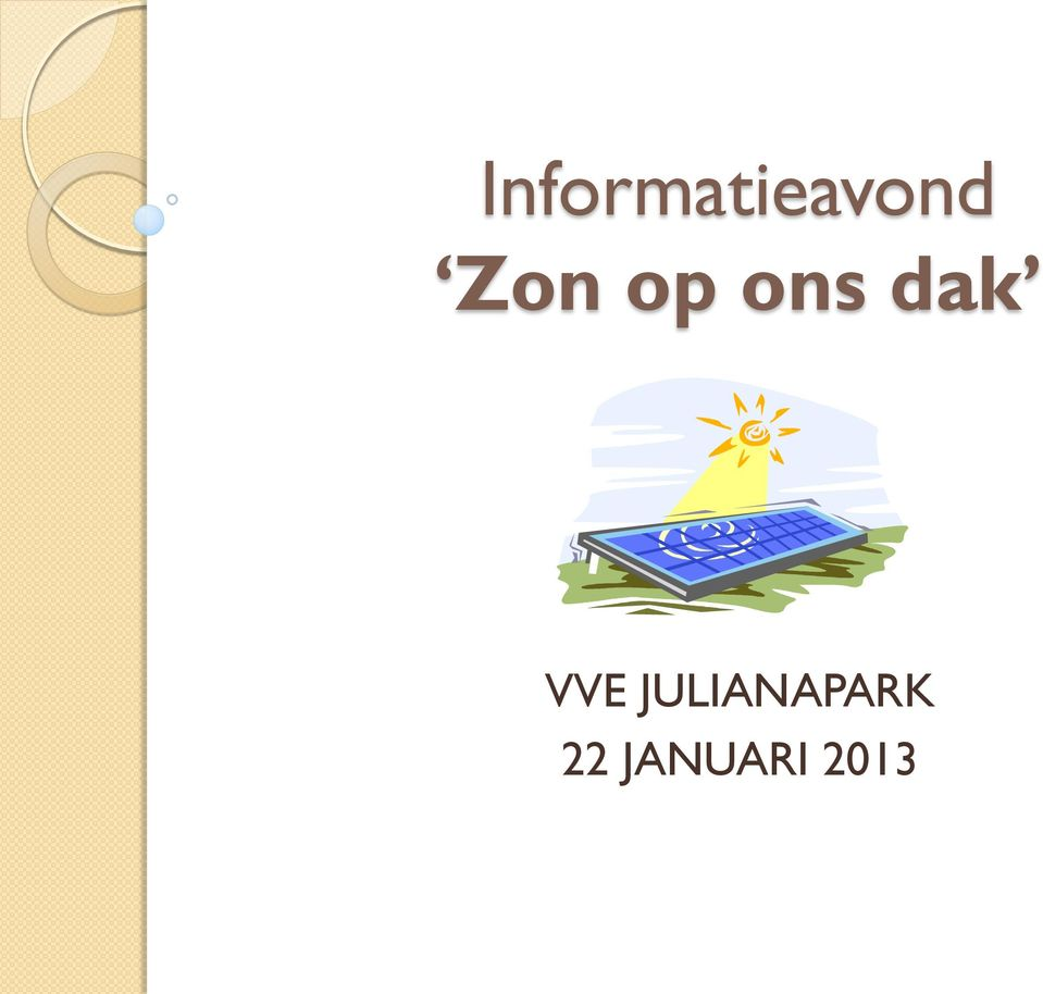 VVE JULIANAPARK