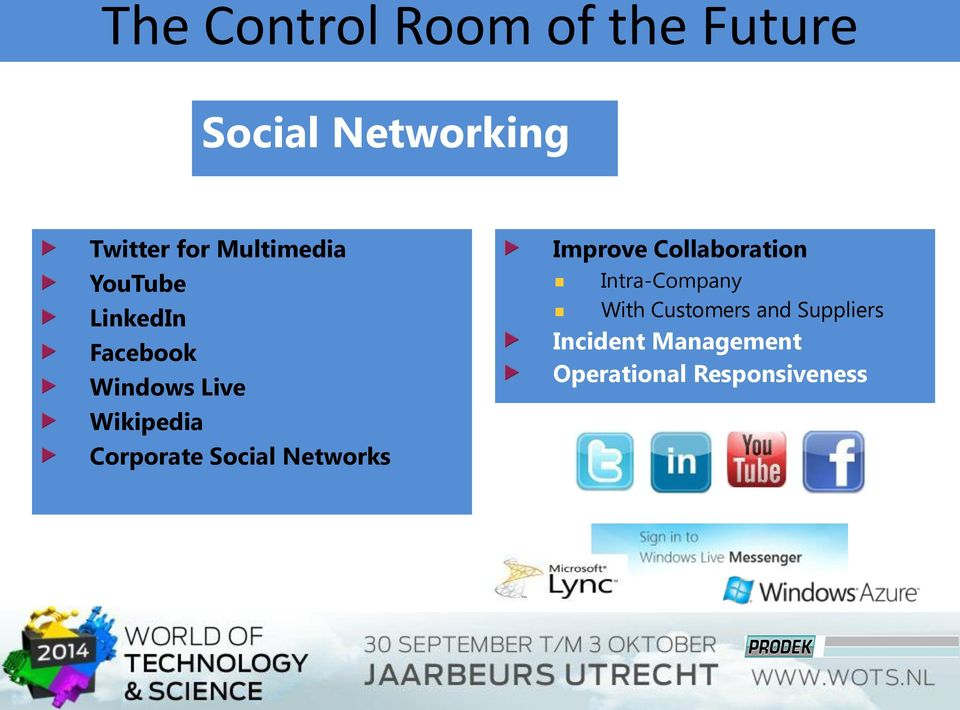 Social Networks Improve Collaboration Intra-Company With