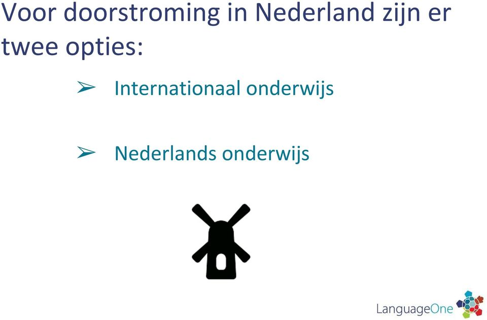 opties: Internationaal