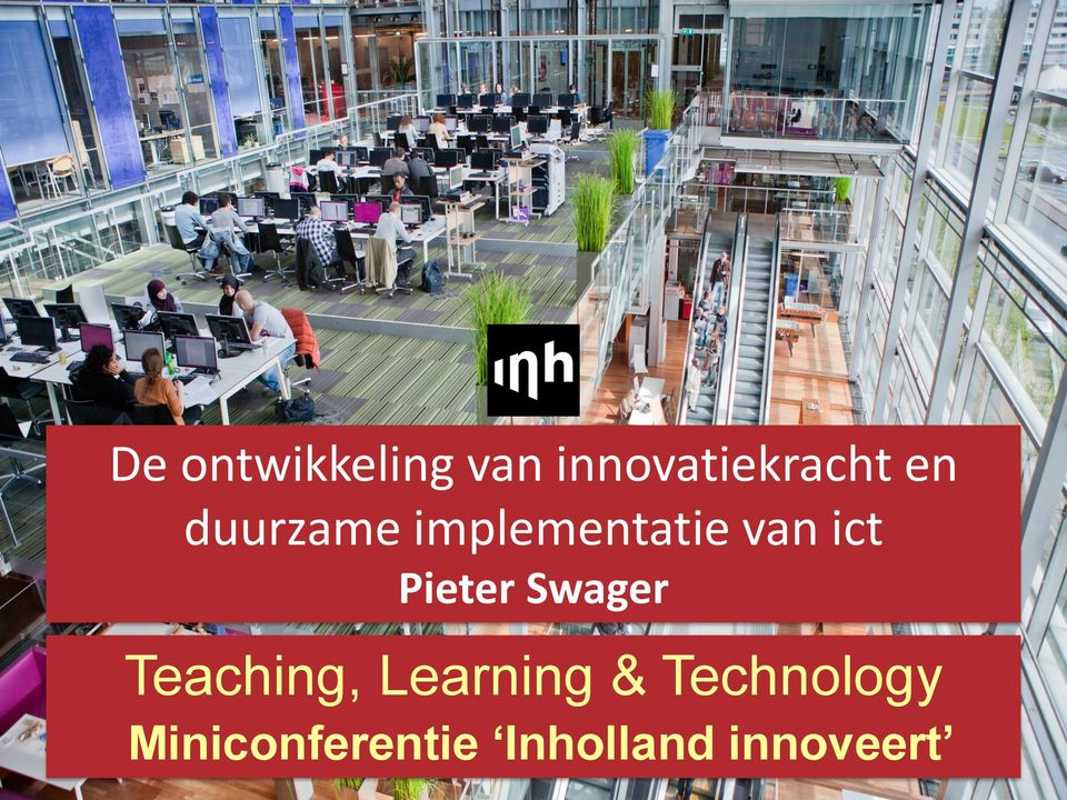 Pieter Swager Teaching, Learning &