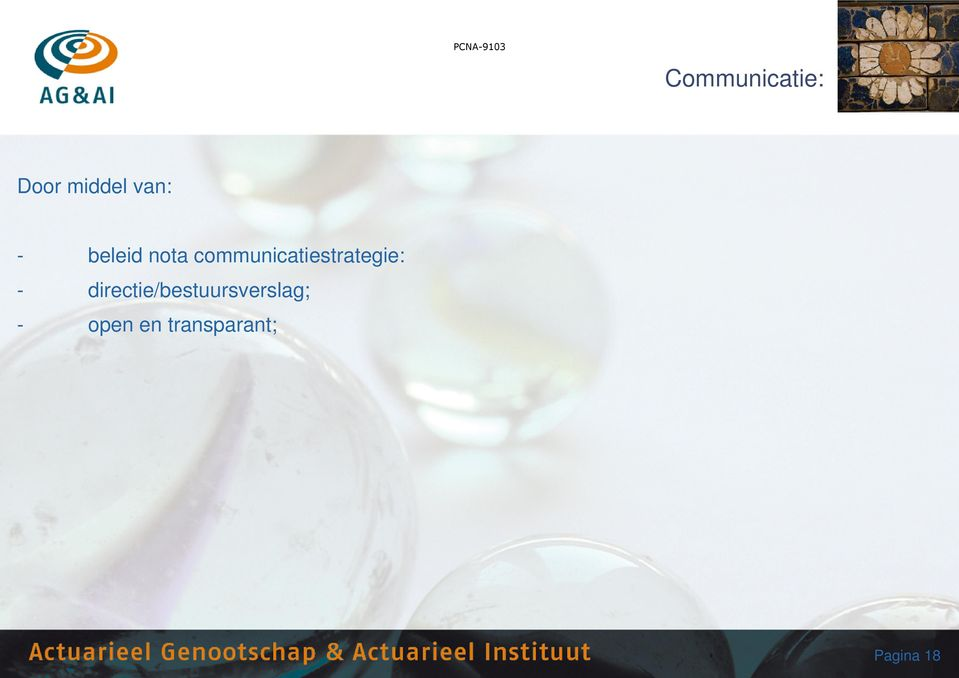 communicatiestrategie: