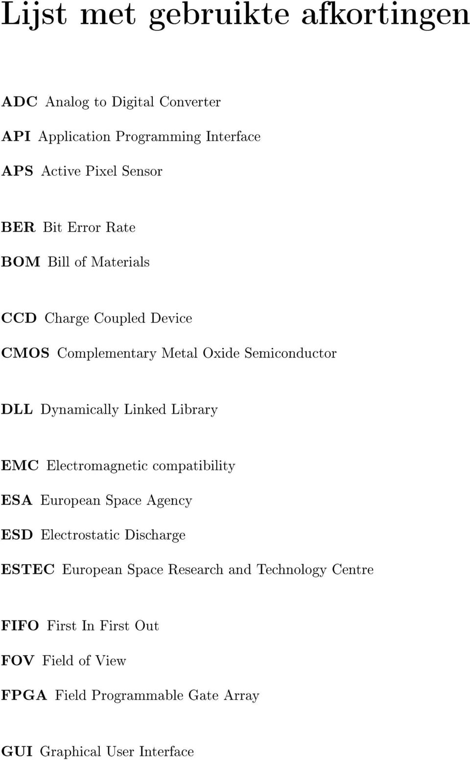 Linked Library EMC Electromagnetic compatibility ESA European Space Agency ESD Electrostatic Discharge ESTEC European Space