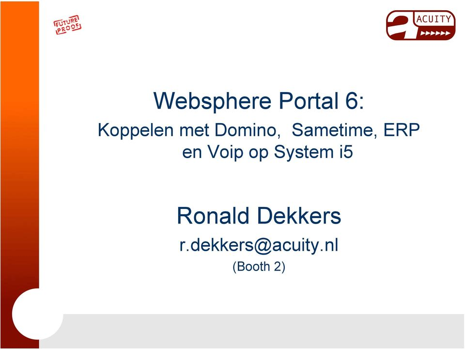 Voip op System i5 Ronald