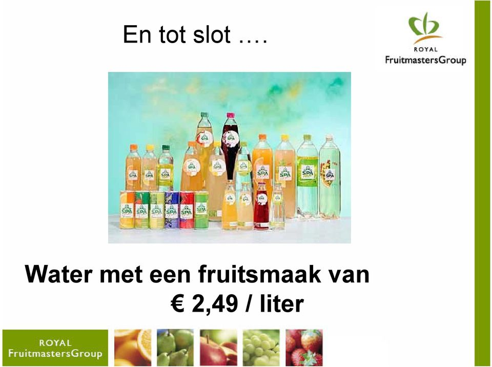 fruitsmaak