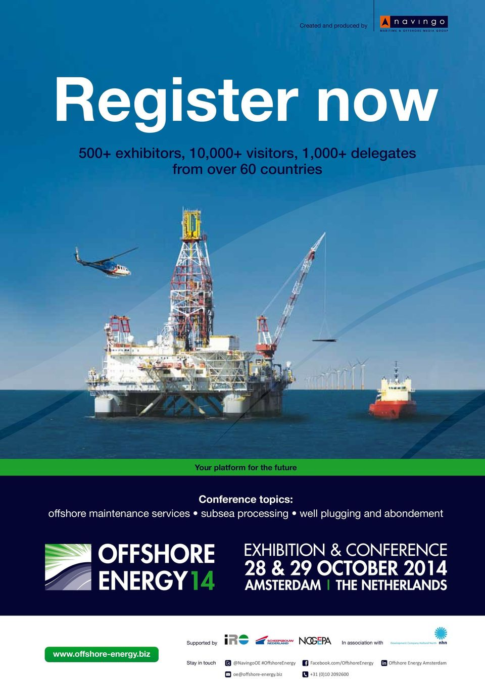 and abondement 28 & 29 OCTOBER 2014 www.offshore-energy.