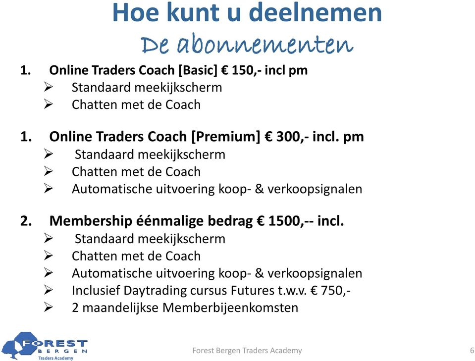 Online Traders Coach [Premium] 300,- incl.