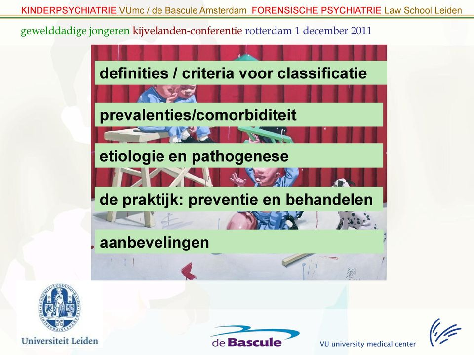 prevalenties/comorbiditeit