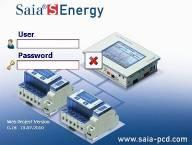 Saia S-Energy Logger Functionaliteit en performance Ethernet CSV-file Web-HMI server Windows CE & exp 10 /12 /15 Webpanel Functies: