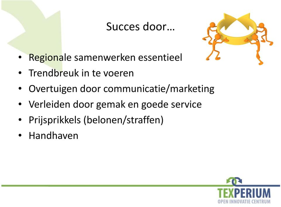 communicatie/marketing Verleiden door gemak en