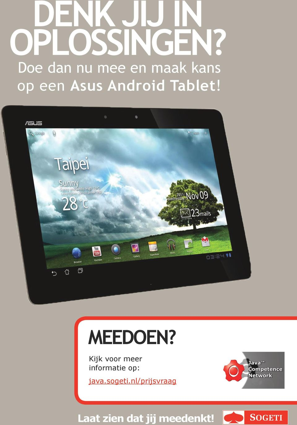 Android Tablet! MEEDOEN?