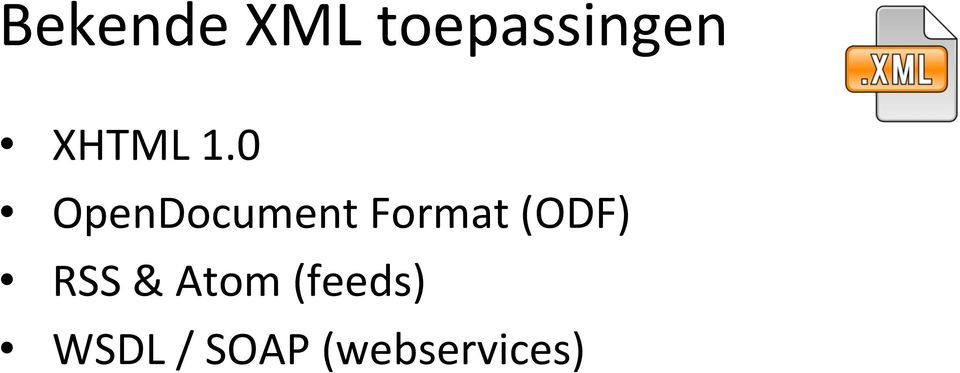 0 OpenDocument Format