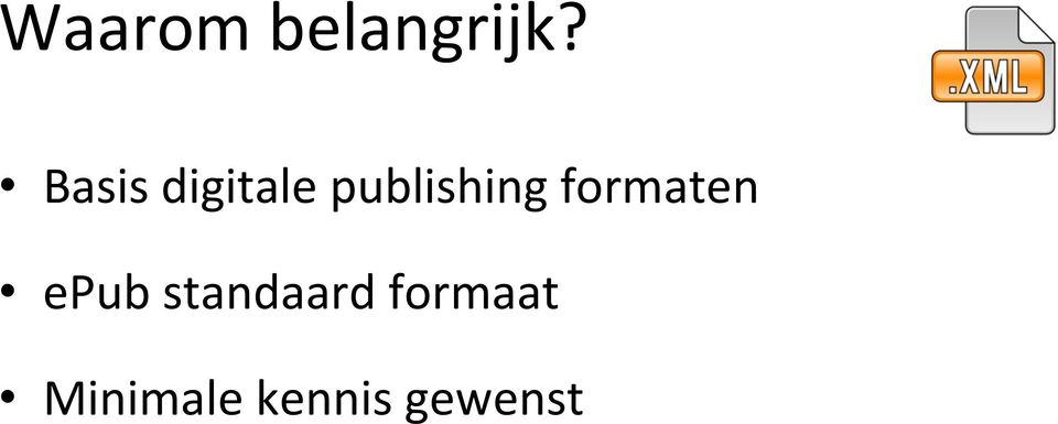 publishing formaten epub