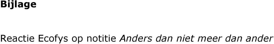 notitie Anders